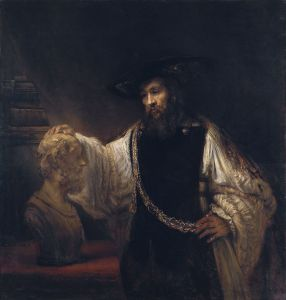 975px-Rembrandt_-_Aristotle_with_a_Bust_of_Homer_-_WGA19232
