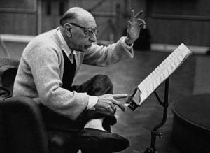 Russian Composer Igor Stravinsky, 1958